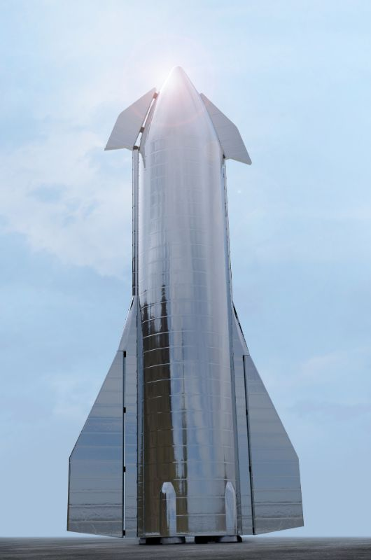 SpaceX's Starship prototype Mk1 rocket